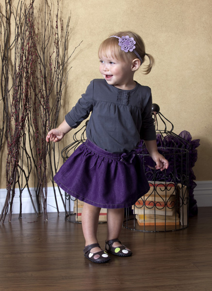 Pediped Giselle Chocolate Brown