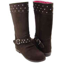 L'Amour A618 Brown Boots