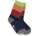 See Kai Run Diagonal Daze Blue Socks