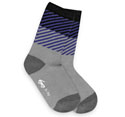 See Kai Run Diagonal Daze Gray Socks