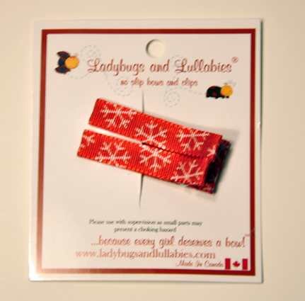 Ladybugs and Lullabies Snowflakes (2 clips)
