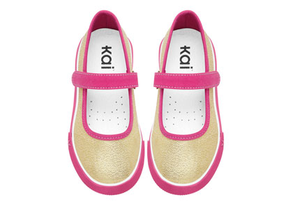 Kai by See Kai Run Sneakers Florence Gold