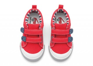 See Kai Run Sneaker Hess II Red