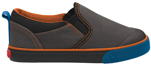 Kai by See Kai Run Sneakers River Gray Orange