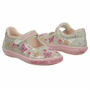Lelli Kelly Kids Glitter Kate Dolly Silver