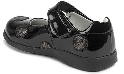 Pediped Flex Giselle Black Patent
