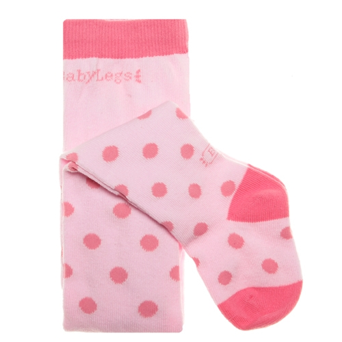 BabyLegs Rose Dots Girls Tights