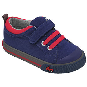 See Kai Run Sneaker Stevie Navy Red