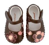 Pediped Abigail Chocolate Brown