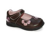 Pediped Flex Abigail Chocolate Brown Pink
