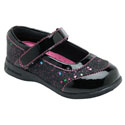 Pediped Flex Alyssa Black Glitter