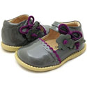 Livie & Luca Bluebell Gray Patent