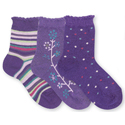 Country Kids Dusky Plum (3 Pack)