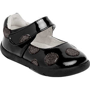 Pediped Grip n Go Giselle Black Patent