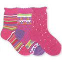 Country Kids Hot Pink (3 pairs)
