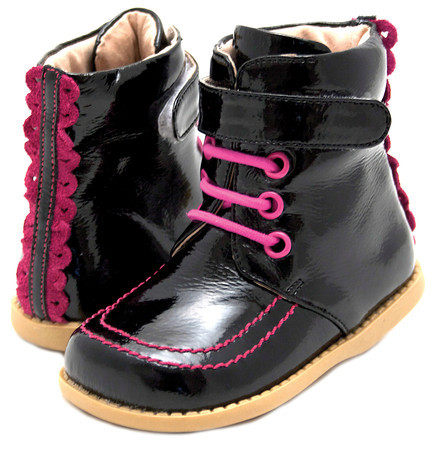 Livie & Luca Roxy Boot Black Patent