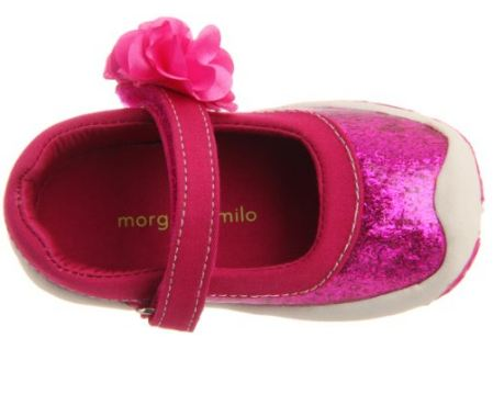 Morgan & Milo Infant Sparkle Floral MJ Dahlia