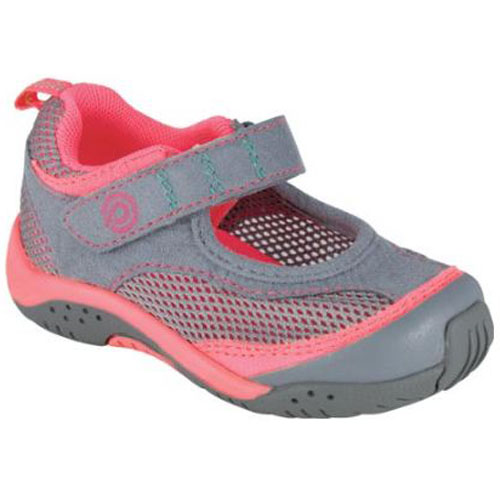 Pediped Flex Darcy Grey, Neon Pink