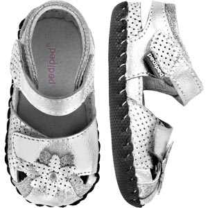 Pediped Originals Mirabella Silver