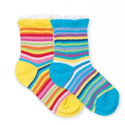 Country Kids Candy Stripes Socks (2 Pack)