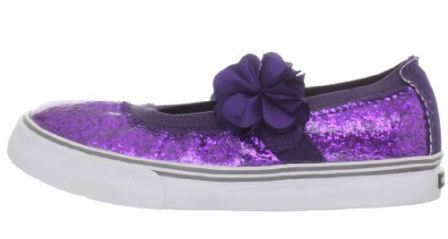 Morgan & Milo Sparkle Floral MJ Purple