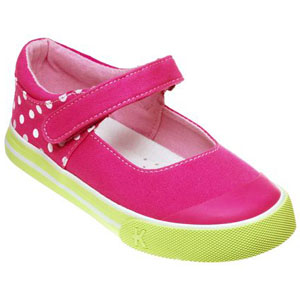 Kai by See Kai Run Sneakers Summer Joy Hot Pink