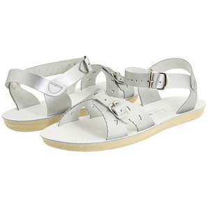 Salt Water Sandals Sweetheart Silver
