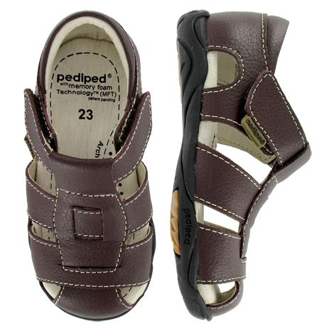 Pediped Flex Sydney Chocolate Brown