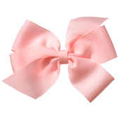 No Slippy Hair Clippy Whitney Queen Bow Pink