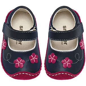 Smaller by See Kai Run Evelyn Navy