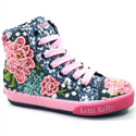 Lelli Kelly LK9356 Hi Tops Rose Blue