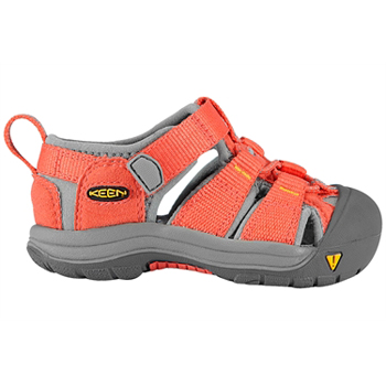 Keen Newport H2 Hot Coral Yellow Infants
