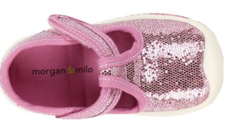Morgan and Milo Infant Sport T-Strap Pink