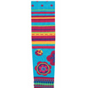 Country Kids Turquoise 3D Kaleidoscope Tights