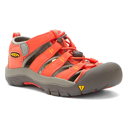 Keen Newport H2 Hot Coral Yellow Kids