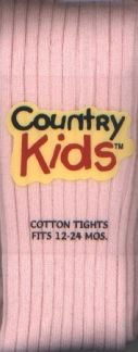 Country Kids Ribbed Cotton Tights Pink