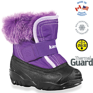Kamik Rugrat Purple Toddler