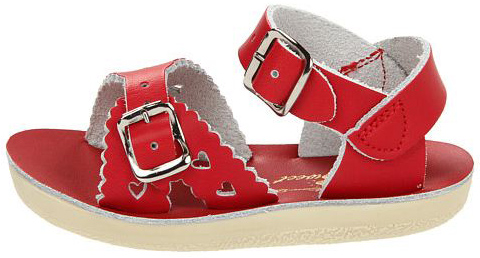 Salt Water Sandals Sweetheart Red