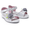 Morgan and Milo Tina Sparkle Sandal Silver